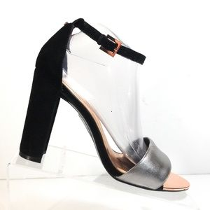 Ted Baker London Women Ankle Strap High Heels 9.5